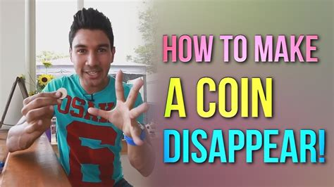 how to make a card disappear in your how to make a coin disappear magic coin tricks revealed