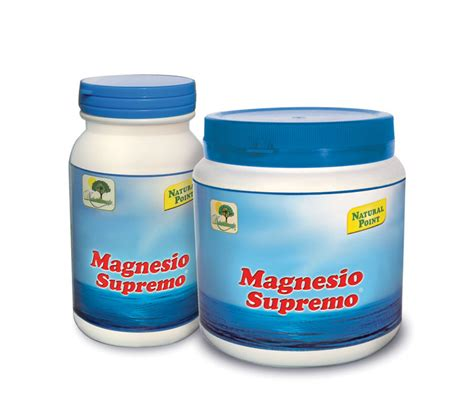 magnesio supremo ingredienti magnesio solubile stress psico fisico point foodly