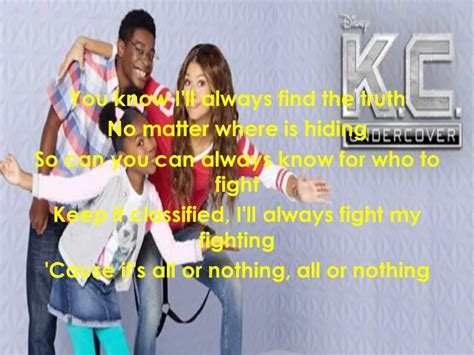 theme songs by the who k c undercover theme song lyrics full song youtube