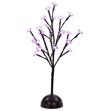 battery powered tree lights led branch light blossom tree flower twig decorative table