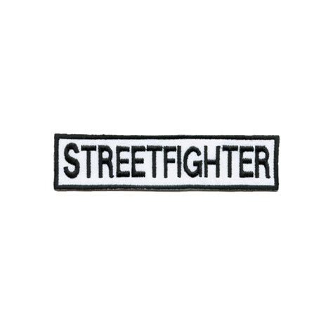 Streetfighter Motorrad Klamotten by Bad Boys Stuff Rockers Industries Biker Stuff Patch