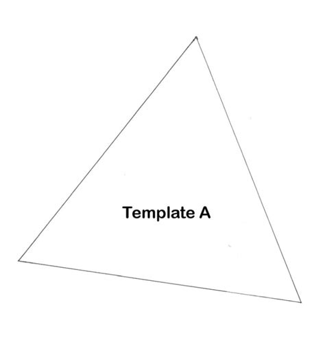 Triangle Tree Template Pictures To Pin On Pinterest Pinsdaddy Triangle Tree Template
