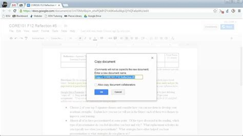 youtube tutorial google drive google drive tutorial turning in assignments youtube