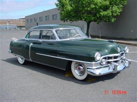 1954 Cadillac 4 Door by 1950 Cadillac Series 62 Four Door Sedan Cadillac
