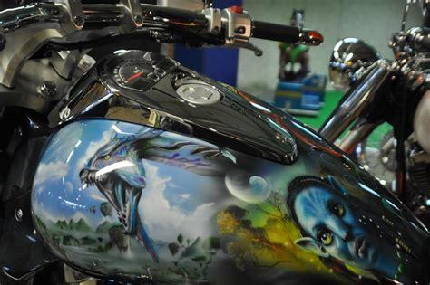 Motorrad Airbrush by Gb Airdeco Airbrush Airbrush Motorrad