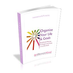 Home Organizing Workbook organize your with this free 72 page workbook planner
