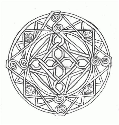 printable celtic coloring pages coloring home