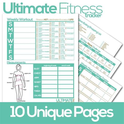7 best images of weight loss tracker printable free