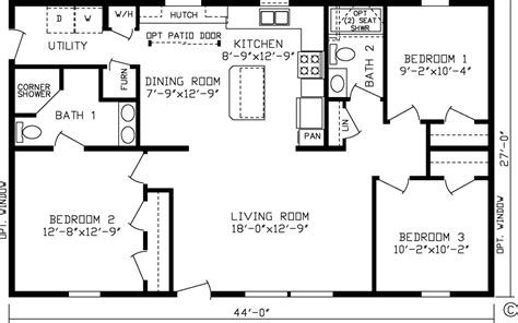 fairmont homes floor plans home balfour 92586k kingsley modular floor plan fairmont homes manufactured and modular