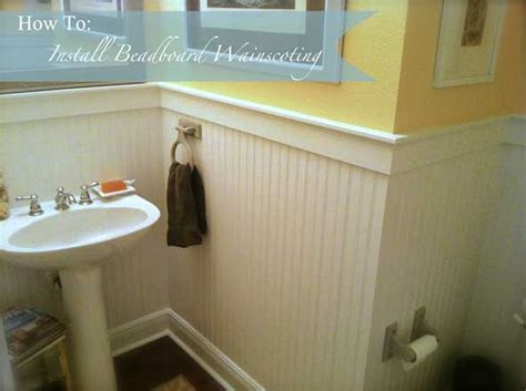 How To Install Wainscoting Planks by How To Install Beadboard Wainscoting Like A Pro