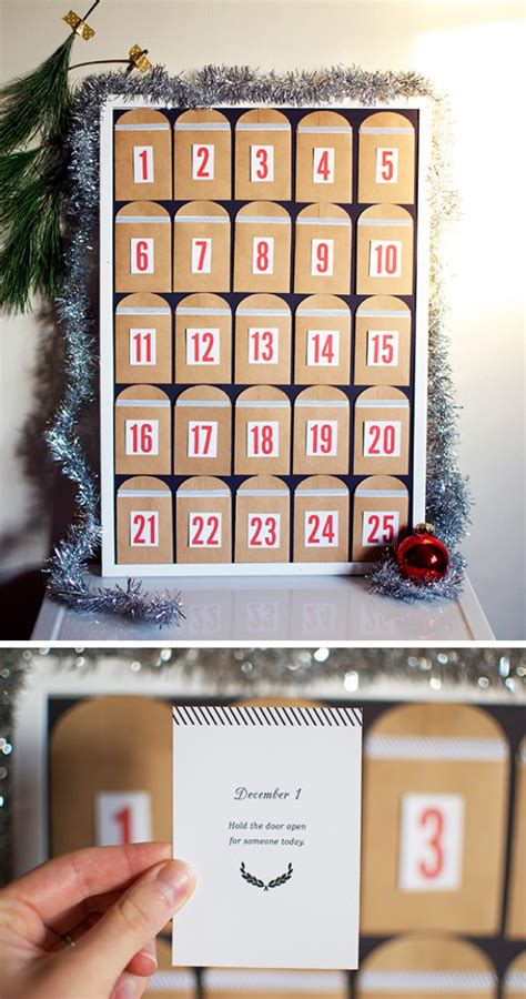 diy christmas countdown calendar ideas tutorials 2017