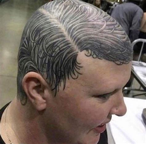 hair tattoo bald hair replacement tellwut