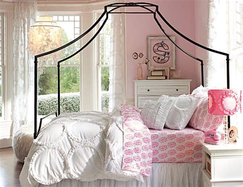 girls bedroom bedding ruffled geometric teen bedding decoist