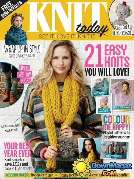 knitting today knit today february 2016 187 pdf magazines