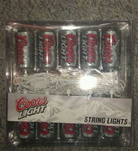 Brewery Price Guide Coors Light String Lights