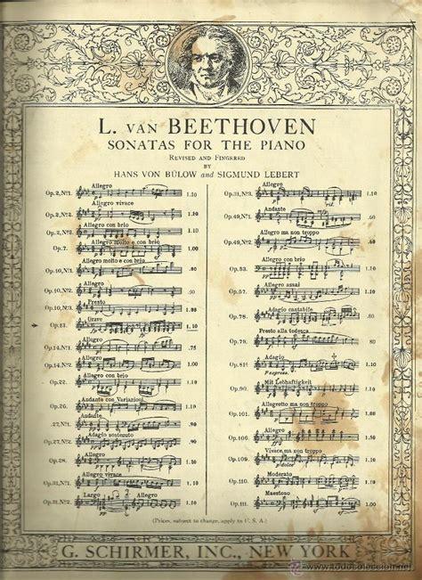 imagenes partituras antiguas antigua partitura new york 1923 sonatas para comprar