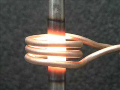 induction heating rod induction heating demonstration