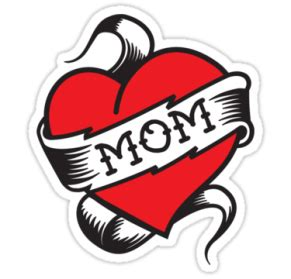 mom tattoo cartoon tattoo png images transparent free download pngmart com