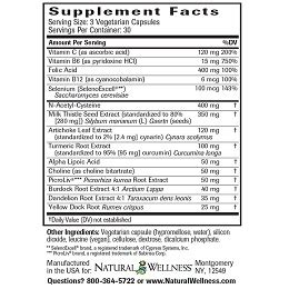 Supplements For Phase 2 Liver Detox by Liver Detox Supplement Liver Support Detox