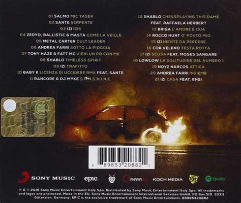 sonora l testo zeta il canzoni colonna sonora tracklist album e
