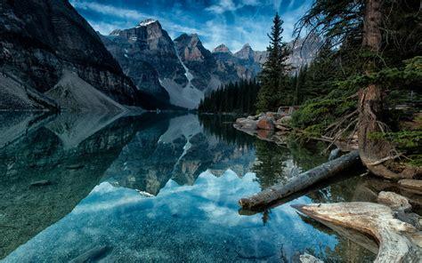 wallpaper 4k canada moraine lake alberta canada wallpaper nature and