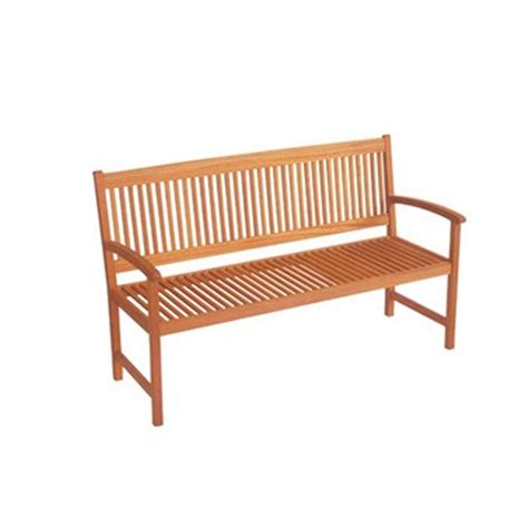 mimosa 145cm neils timber bench bunnings warehouse