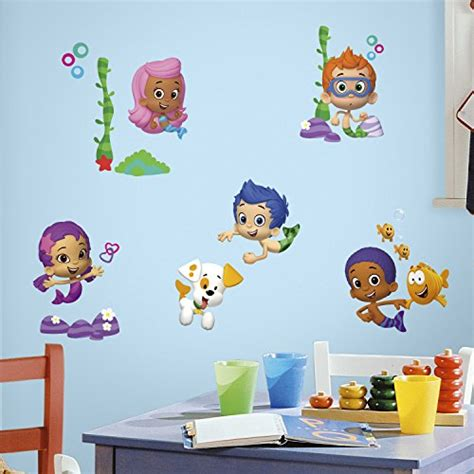 bubble guppies bedroom decor bubble guppies wall decals peel stick stickers kids
