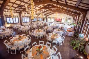 country wedding reception table ideas orange gray wedding colors rustic wedding chic