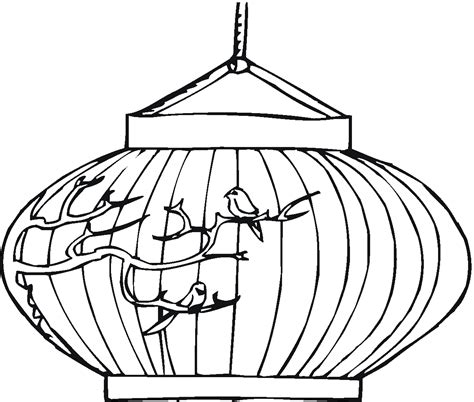 new year lantern colouring coloring pages china coloring pages
