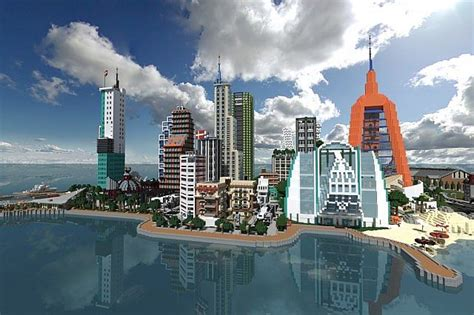 modern city modern city download minecraft project