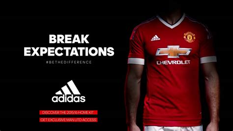adidas manchester united break expections adidas manchester united 2015 16 kit