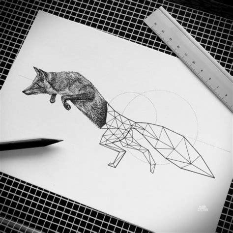 tattoo minimalist fox 27 best minimal geometric tattoo illustration line and