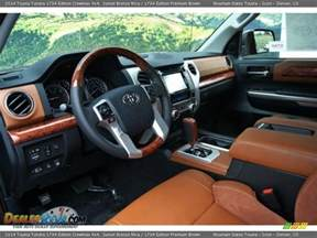 toyota tundra 1794 edition interior autos post