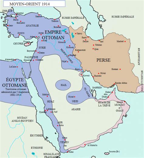 Carte De L Empire Ottoman En 1914 by Un Peu D Histoire L Empire Ottoman En 1915