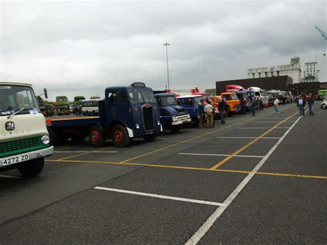 Dublin Port Car Park by Kilkenny Motor Club Vintage Car Club Kilkenny Ireland