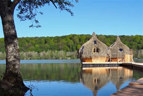 Cabanes Grands Lacs by Les Cabanes Des Grands Lacs Lancent Un Spa Flottant 233 Cologique