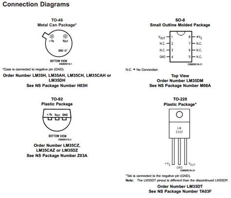 transistor lm35 datasheet lm35 datasheet precision centigrade temperature sensors