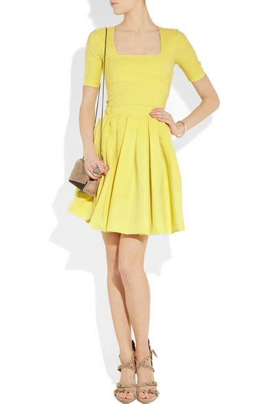 Friday Afternoon Dresses From Net A Porter by Preen By Thornton Bregazzi Stretch Crepe Dress