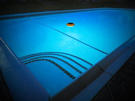 Swim Time Starshine Floating Led Solar Pool Light Ebay Solar Powered Pool Lights