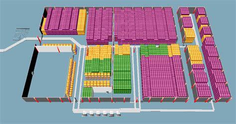 class warehouse layout and simulation carlsberg warehouse simulation cirrus logistics