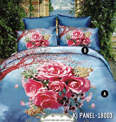 Bedcover Set Sprei 180x200 Katun Satin Jepang sprei katun jepang bedcover grosir murah