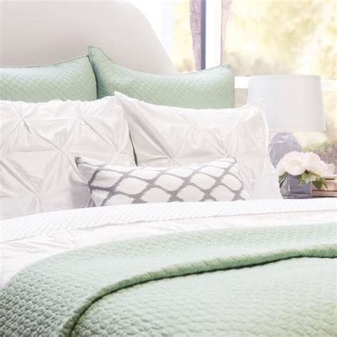 seafoam green bedding green quilt and sham cloud seafoam green crane canopy