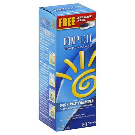 Multi Purpose Solution A 100ml complete multi purpose solution easy rub formula 12 fl oz 355 ml