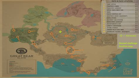 challenge locations steam community guide nomad challenge location map