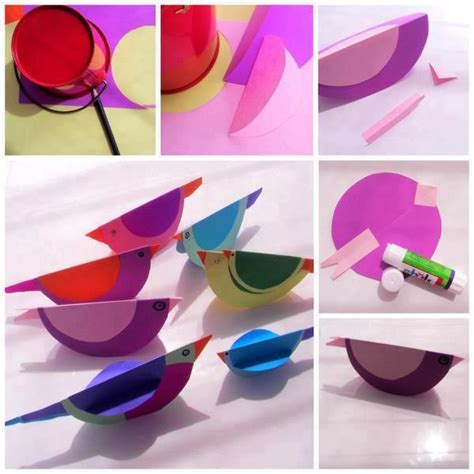Paper Birds Craft - diy simple paper bird diy simple paper bird diy and crafts