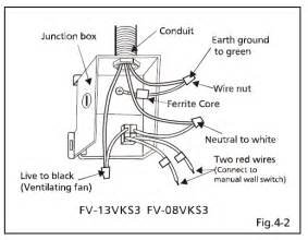 wiring an attic fan with thermostat diagram get free