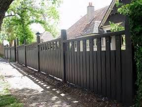 californian bungalow fences fencing bungalows and fence on