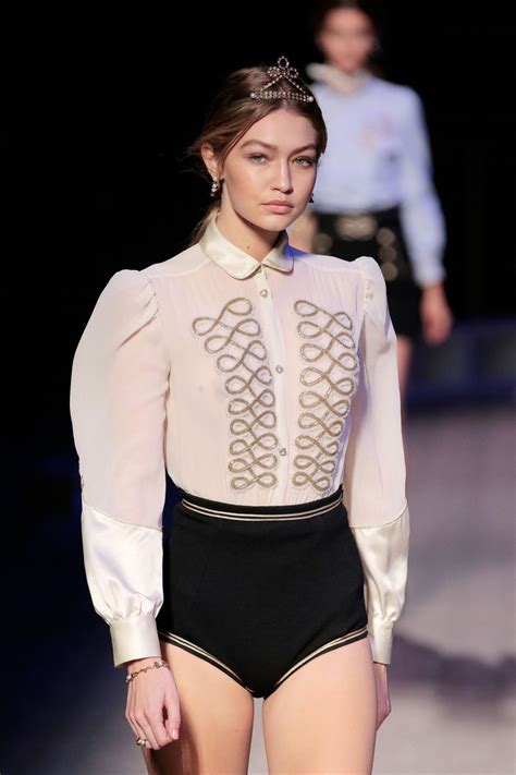 Nyc Fashion Week by Gigi Hadid At Hilfiger Fall 2016 Presentation During