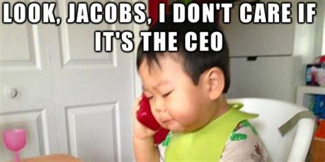 Business Baby Meme - 6 most hilarious business baby images huffpost uk