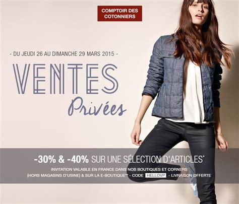 Ventes Privees Comptoir Des Cotonniers by Ventes Priv 233 Es Comptoir Des Cotonniers Printemps 2015